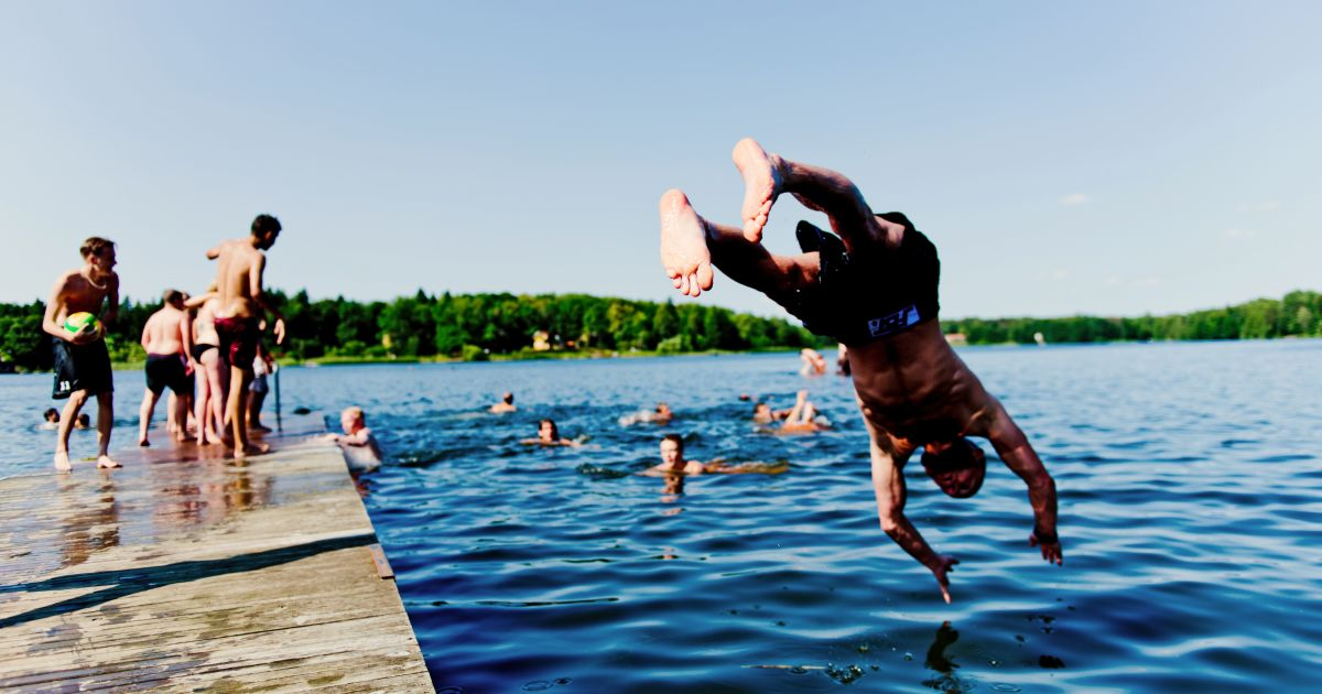 Swimming areas | Destination Uppsala